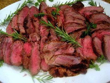 Recette Gigot d'agneau à la rôtissoire - Recette facile