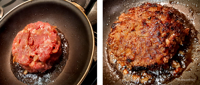 Recette Burgers oignons confits et sauce Tartare façon Lignac