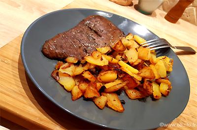 Recette Hampe de bœuf grillée