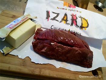 Recette Onglet de bœuf aux échalotes