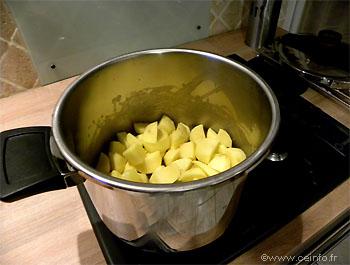Recette Ragoût de boeuf aux pommes terre