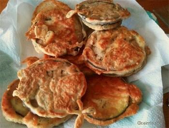 Recette Beignets d'aubergine [Recette facile]