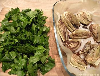 Recette Tarte au flan au fenouil, épinards et chèvre frais