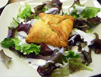 Recette Salade aux bricks de chèvre - Recette