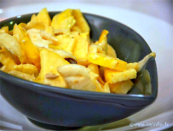 Recette Salade endives, poulet et ananas