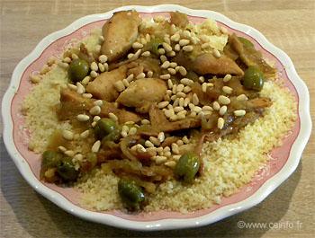 Recette Tajine poulet, miel et oignons - Recette rapide