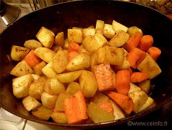 Recette Tajine de poulet aux légumes [Recette marocaine]