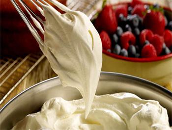 Recette La crème Chantilly maison