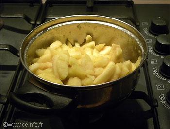 Recette Flan aux pommes