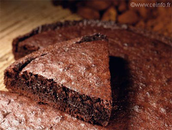 Recette Brownie (gâteau fondant au chocolat)