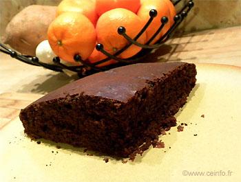 Recette Moelleux au chocolat sans beurre