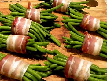 Recette Fagots de haricots verts frais
