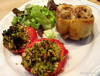 Recette Tomates à la Provençale au four
