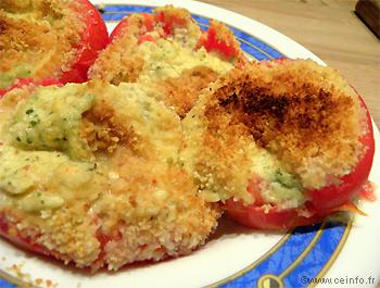 Recette Tomates farcies à la mozzarella