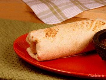 Recette Borritos au poulet - Recette [facile]
