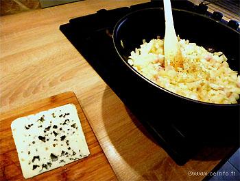 Recette Moules au Roquefort