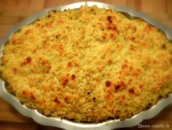 Recette Macaronis gratinées [niveau très facile]