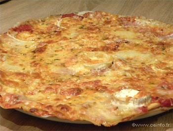 Recette Pizza 4 fromages - Recette