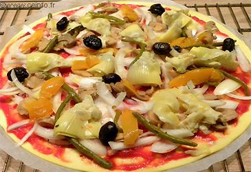 Recette Pizza saisonnière