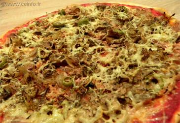 Recette Pizza au thon - Recette [Facile]