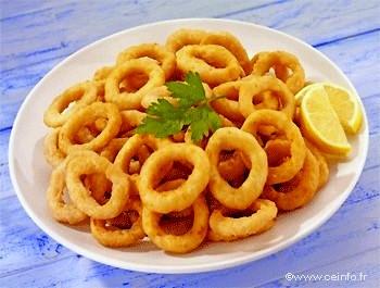 Recette Beignets de calamars à la romaine [recette facile]