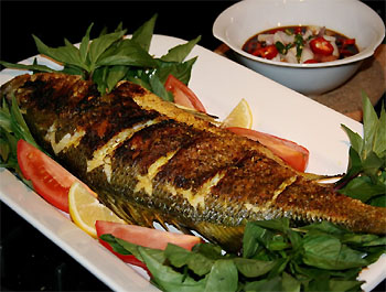 Maquereaux grill s au barbecue les poissons entiers - Maquereau grille au four ...