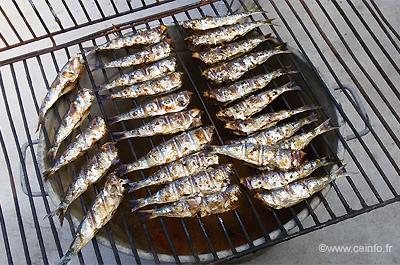 Recette Sardines grillées