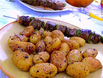 pommes de terre grenaille saut es la po le recettes base de pommes de terre. Black Bedroom Furniture Sets. Home Design Ideas
