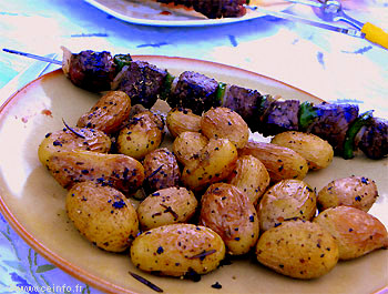 Recette Pommes de terre grenaille sautées (à la poêle)