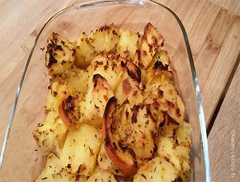 Recette Pommes de terre rôties à l'orange