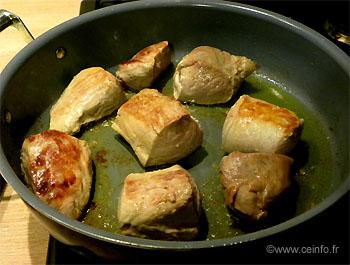 Recette Filets mignons de porc à la patate douce