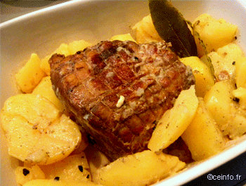 Recette Rôti de porc au lait [recette facile]