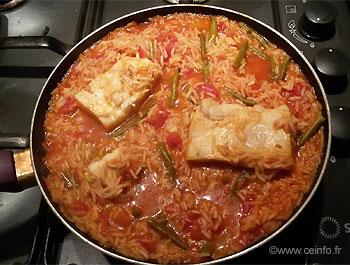 Recette Risotto au concassé de tomates et cabillaud